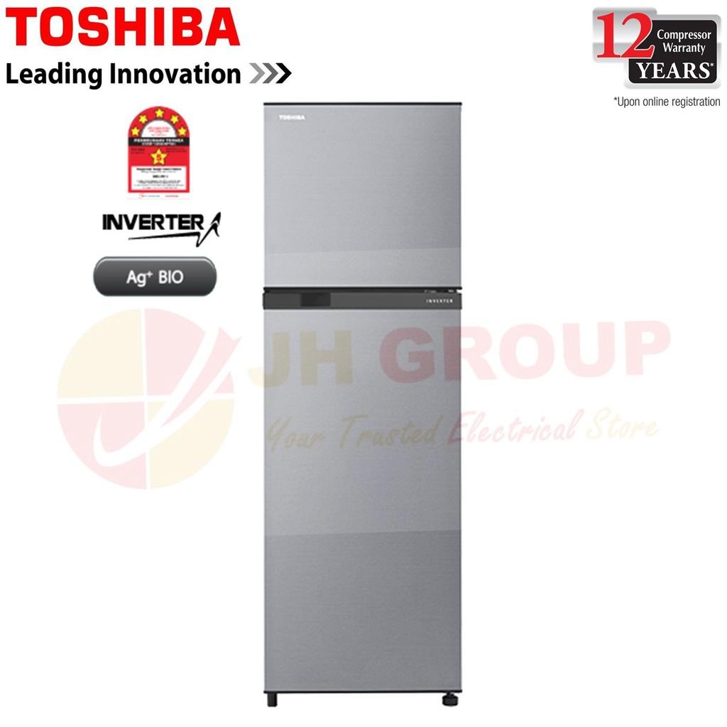 (2019 NEW MODEL) TOSHIBA GR-B31MU(SS) 273L INVERTER 2 DOOR REFRIGERATOR