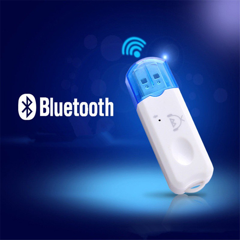 USB Bluetooth Receiver Wireless Stereo Audio Music Adapter Car Home Speaker | Shopee Malaysia