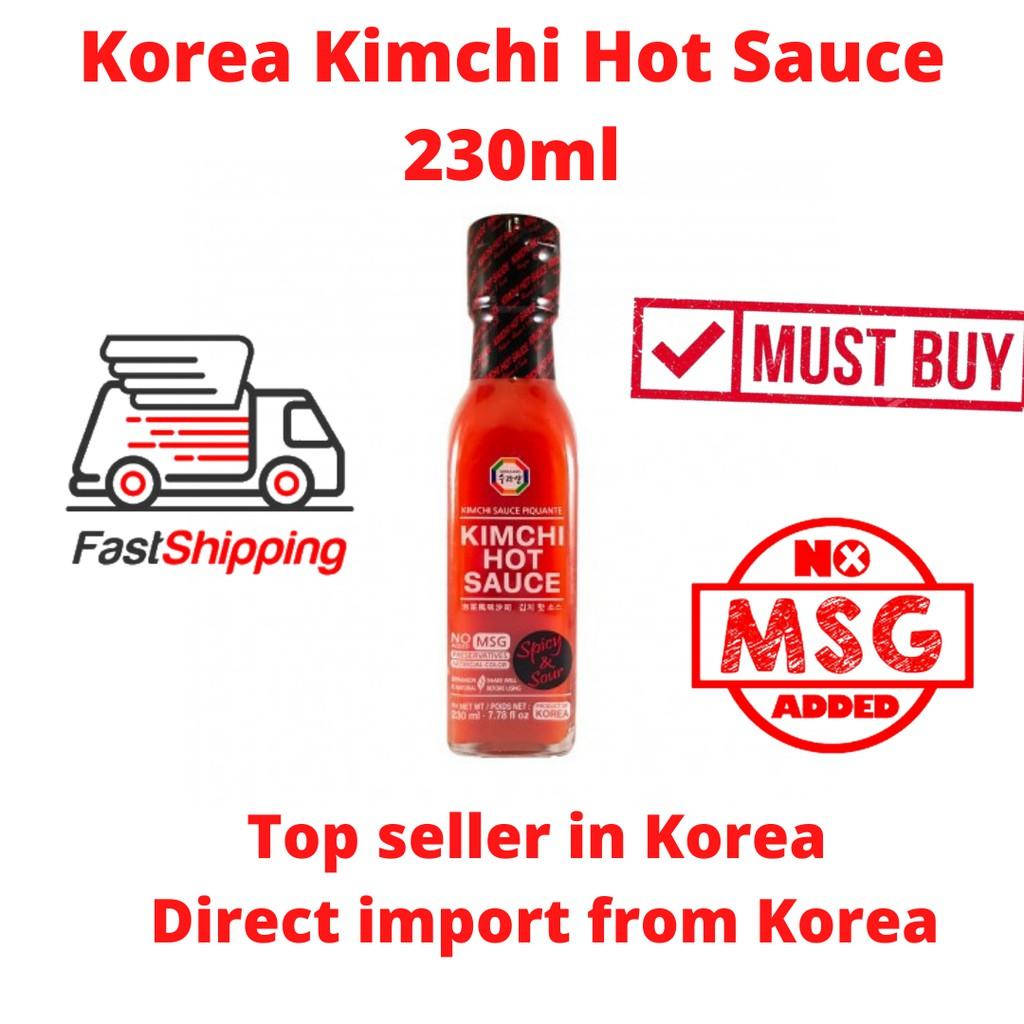 Korea Kimchi Hot Sauce 230ml Surasang