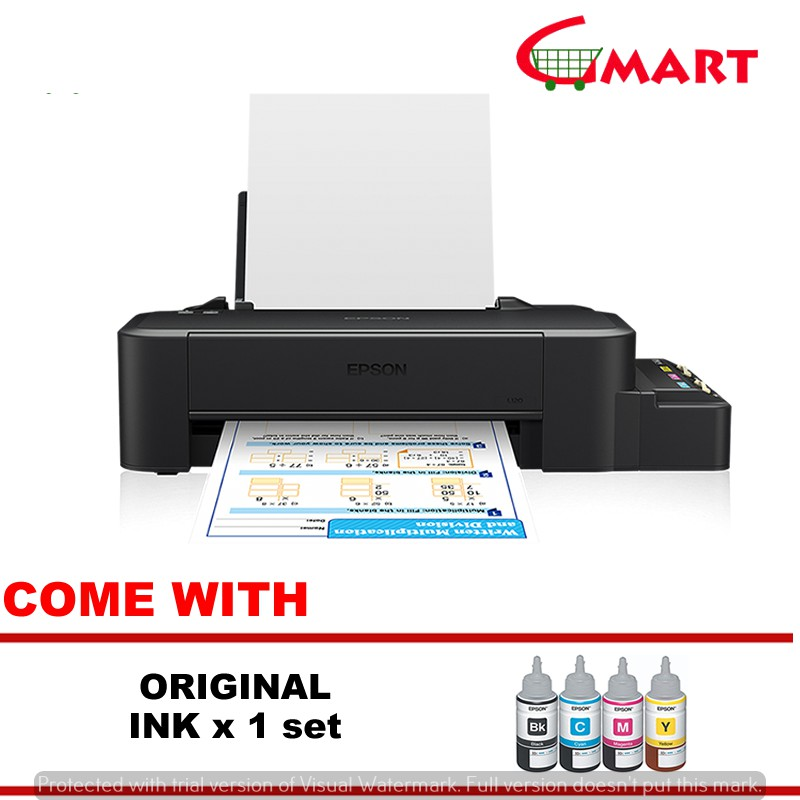 Epson Colour Inkjet L120 With Original Ink Tank Printer (Print Only)