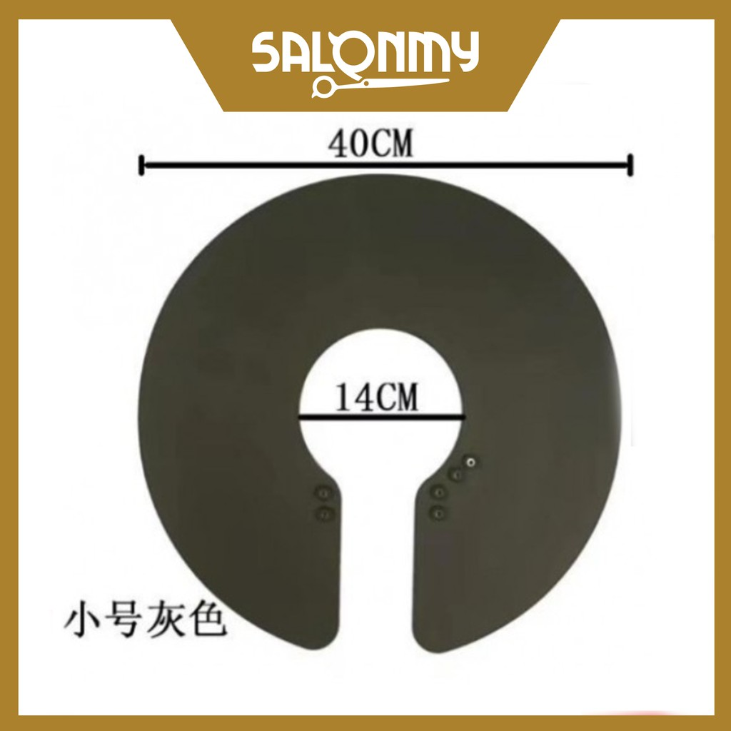 Silicone Salon Haircut Neck Cape (S)