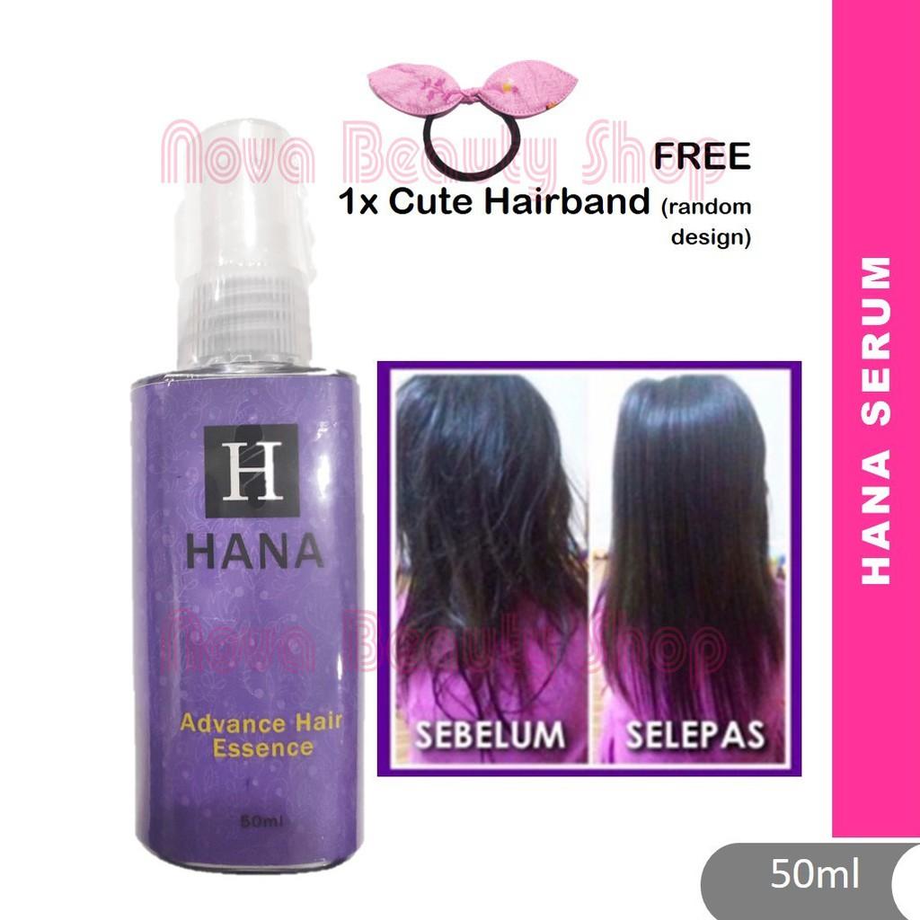 Hana Serum 50ml Advance Hair Essence - Rambut Gugur. Kelemumur dan Kusut