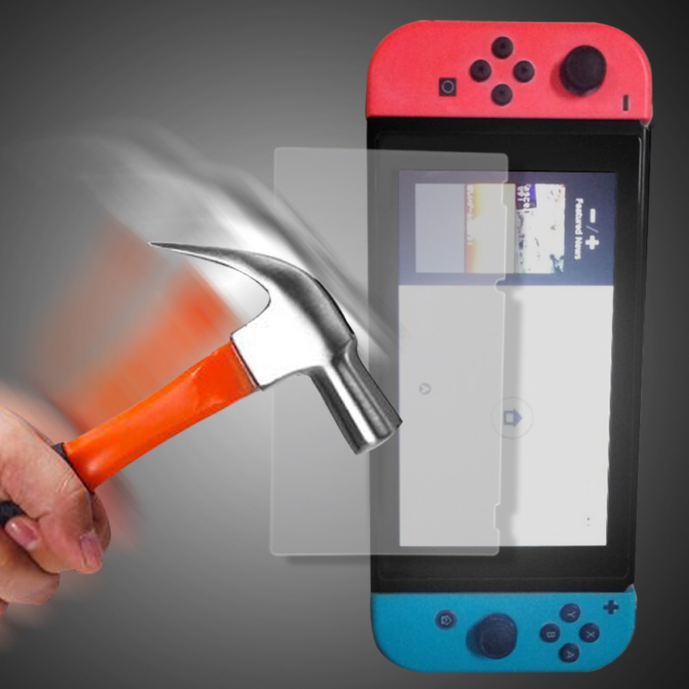 Nintendo New 3ds Xl 9h Tempered Glass Screen Protector Shopee Malaysia For Ll Hori