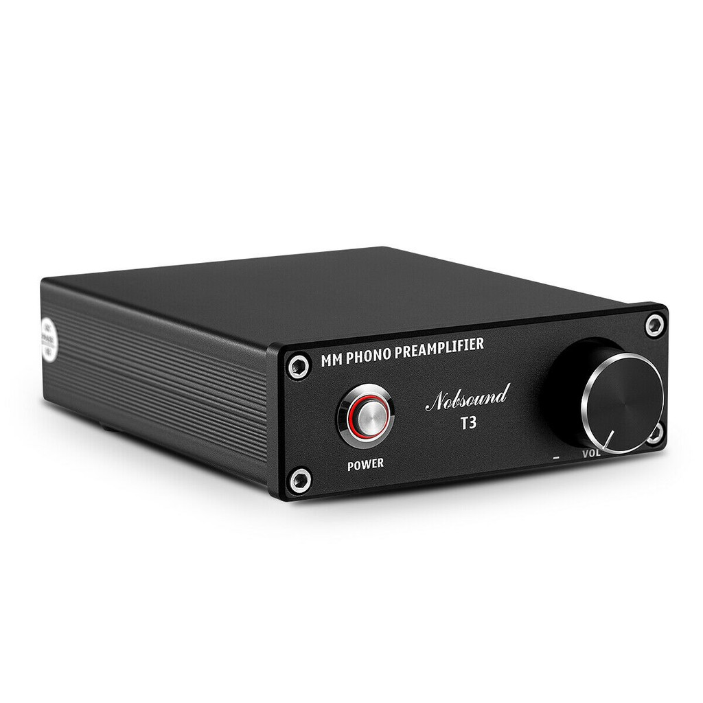 Mini Phono Stage MM Riaa Phono Turntable Preamp Inspired By DENON-AVR-2310CI Amp