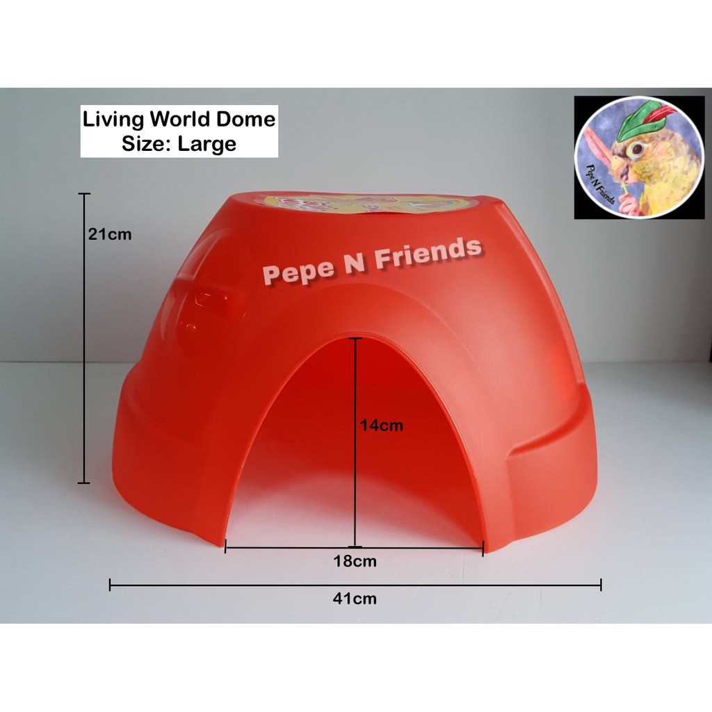 Living World Small Animal Dome Hideout