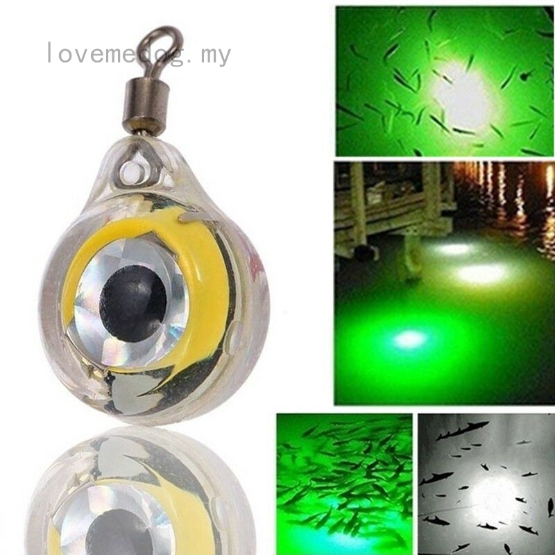 Glowing Fishing Lures Lights Night Fluorescent LED Underwater Night Light Lure