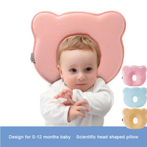 Plagiocephaly Organic Head Shaping Nursing Baby Pillow for Newborn//Infant Cars Protection from Flat Head Syndrome