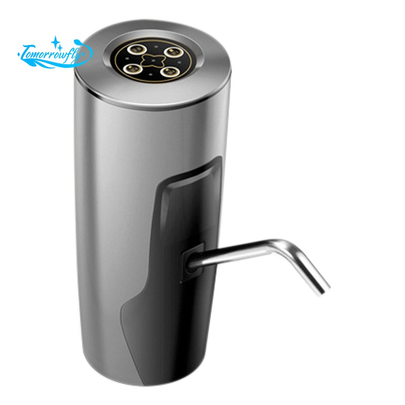 Usb Charging Automatic Timing Quantitative Pump Button Dispenser Gallon Drinking Water Switch For Pu