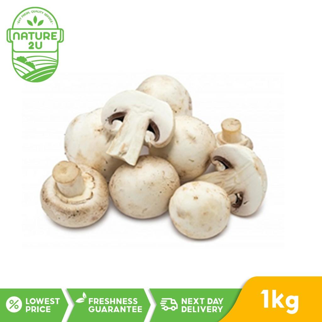 Fresh Vegetable - Button Mushroom (1kg)