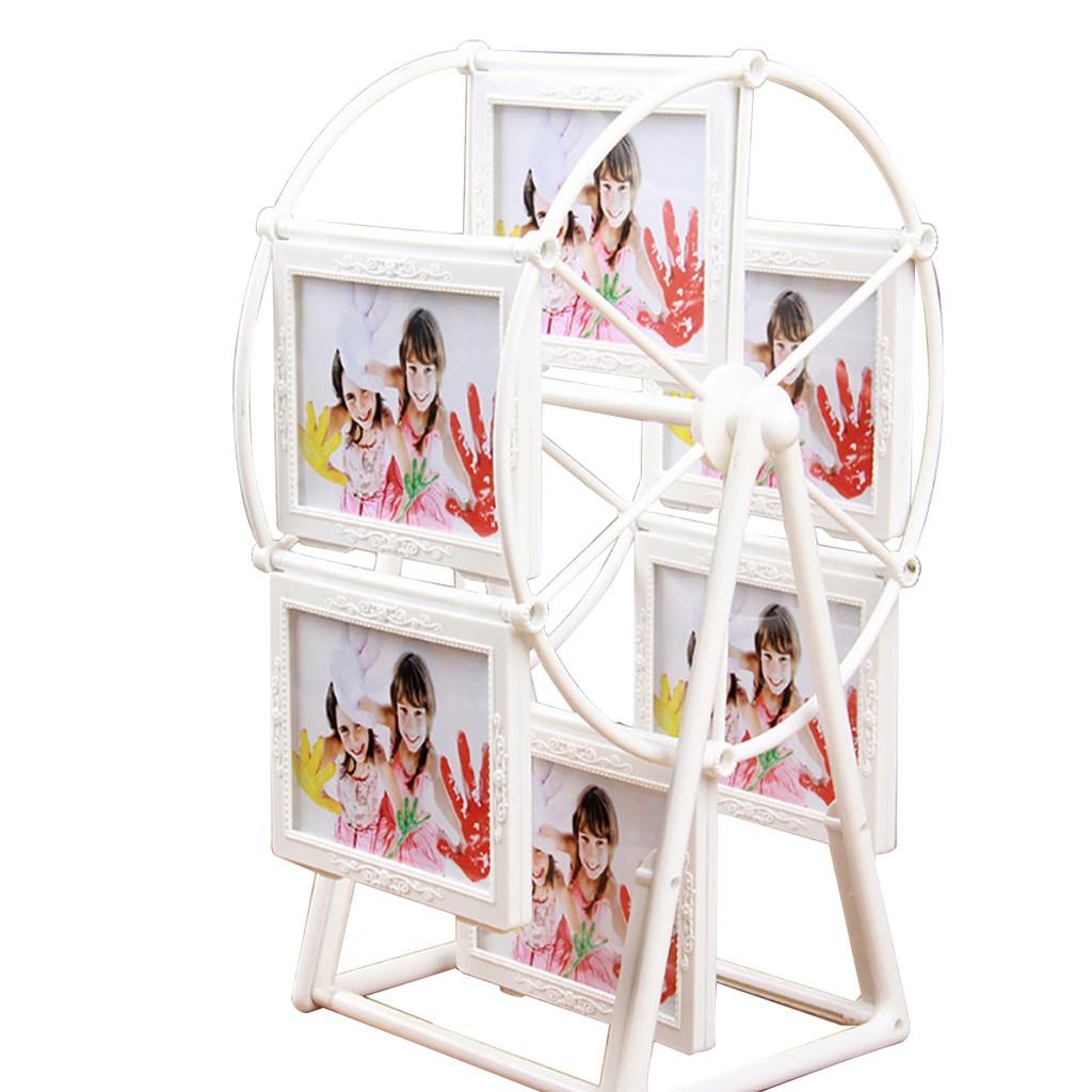 Photo Frame Creative Rotating Ferris Wheel Shaped Photo Display ...