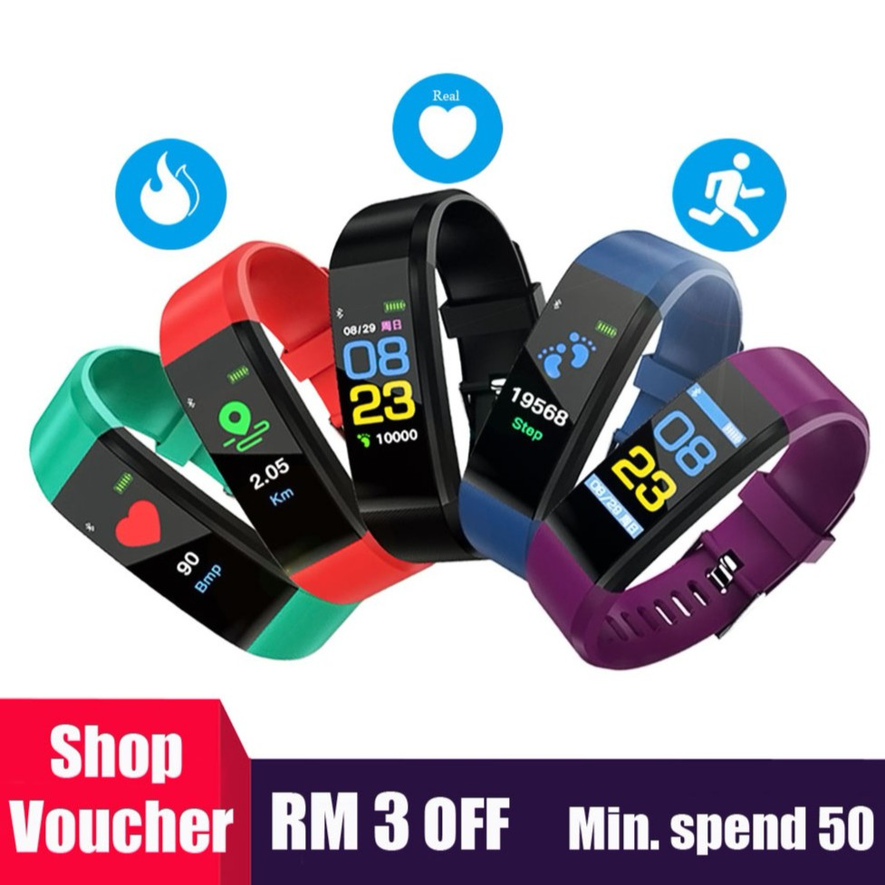 Nb-213 Bluetooth Smart Watches Heart Rate Blood Pressure Monitor Step Waterproof Wristband Smart Meter Watch For Men Women Buy One Get One Free Digital Watches