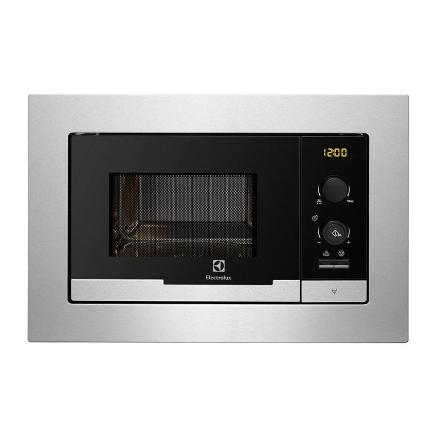 Electrolux EMS2085X Built in Microwave Grill1000w 5 Power Levels 20L