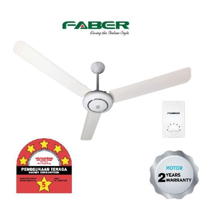 Faber Ceiling Fan FCF COMODO 606 with 5-Speed Regulator