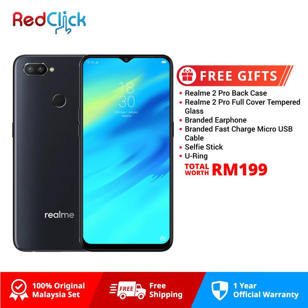 Realme 2 Pro (8GB/128GB) + 6 Free gift Worth RM199