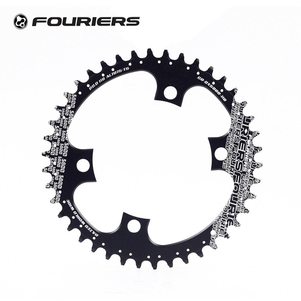 FOURIERS Oval Chainring Teeth Mountain Bike MTB Chainwheel for Shimano XT M8000