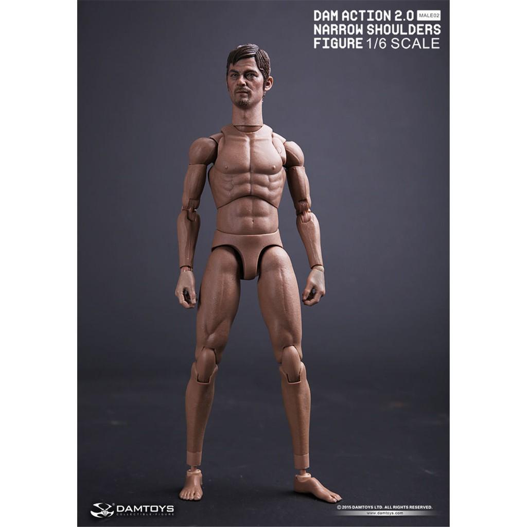 e3fcc4fdd00 DAM TOYS 2.0 1/6 NARROW SHOULDERS ACTION Figure Male BODY MALE02 | Shopee  Malaysia