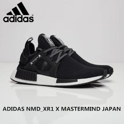 50147519d READY STOCK ADIDAS NMD XR1 X MASTERMIND JAPAN men shoes sport shoes (BLACK)