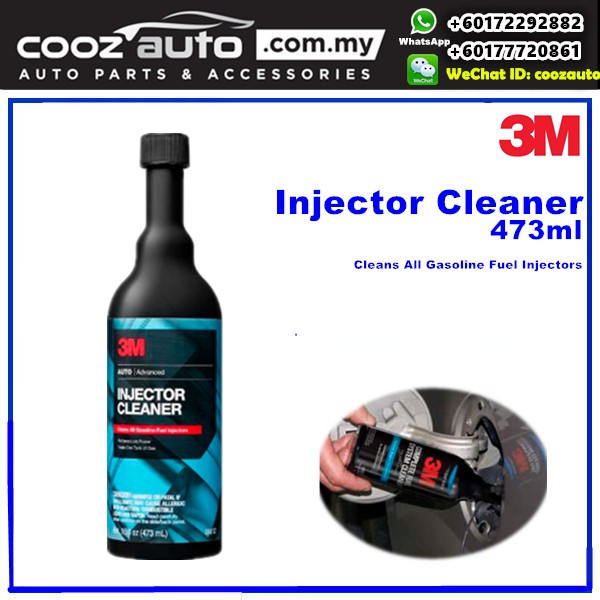 3M Complete Advanced Fuel Injector System Cleaner (USA Product)