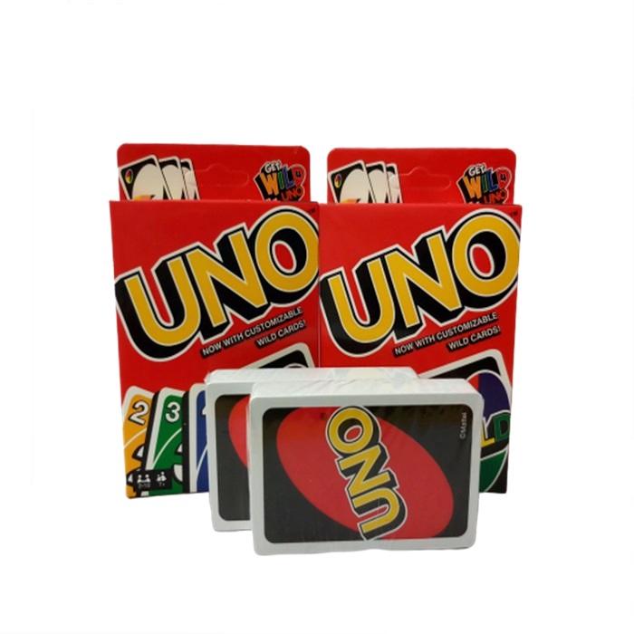 MALAYSIA] KAD PERMAINAN UNO/ UNO Card Game Cards With Customizable Wild Card