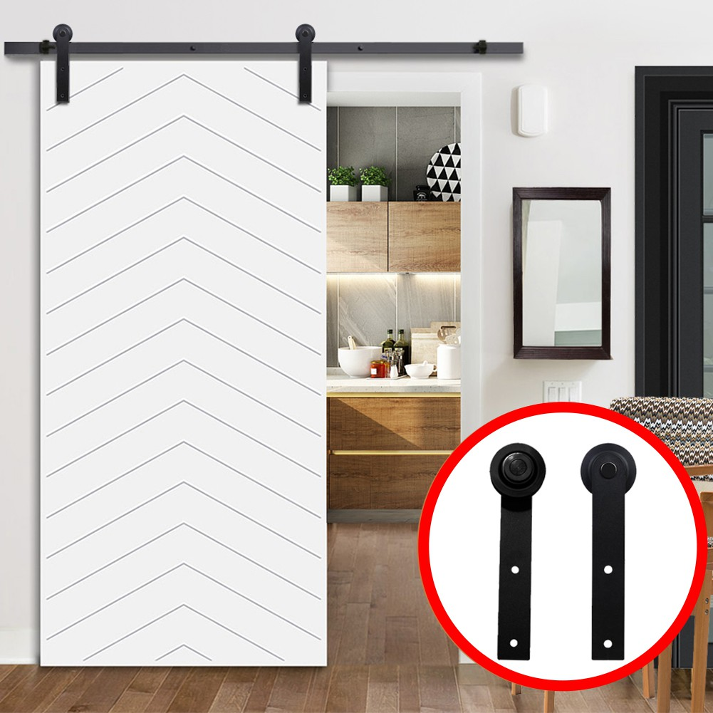 Carbon Steel Roller for Sliding Barn Door Hardware Hangers Kit Wood Barn Door US