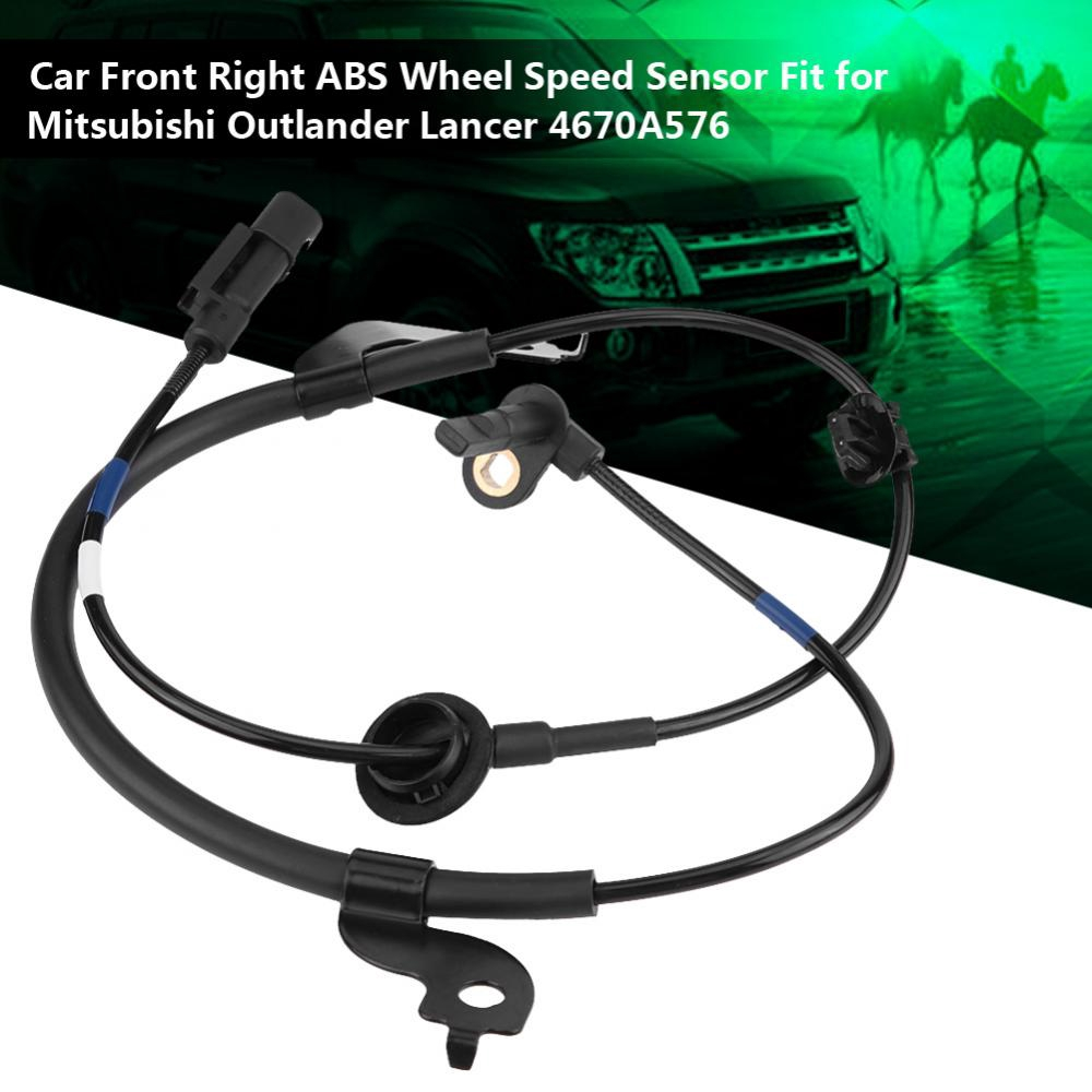 Front Right ABS Wheel Speed Sensor for 07-14 Mitsubishi Outlander Lancer