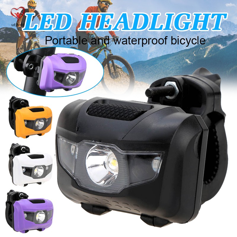 Bright /& Super Easy to Install Bright Bicycle Bike Light Set Front and Back
