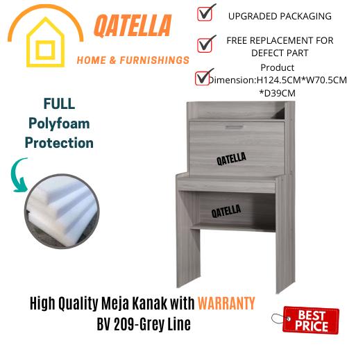 Qatella DIY Meja Budak/Meja Anak/Meja Kanak/Table Children/Study Desk /Workstation/Meja Tulis/学习桌/读书桌子 (BV209) (SU 209)
