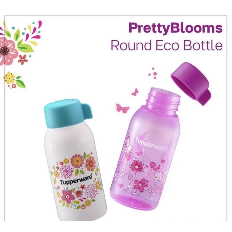 (READY STOCK!!!) Tupperware Pretty Blooms Eco Bottle 350ml (2PCS)
