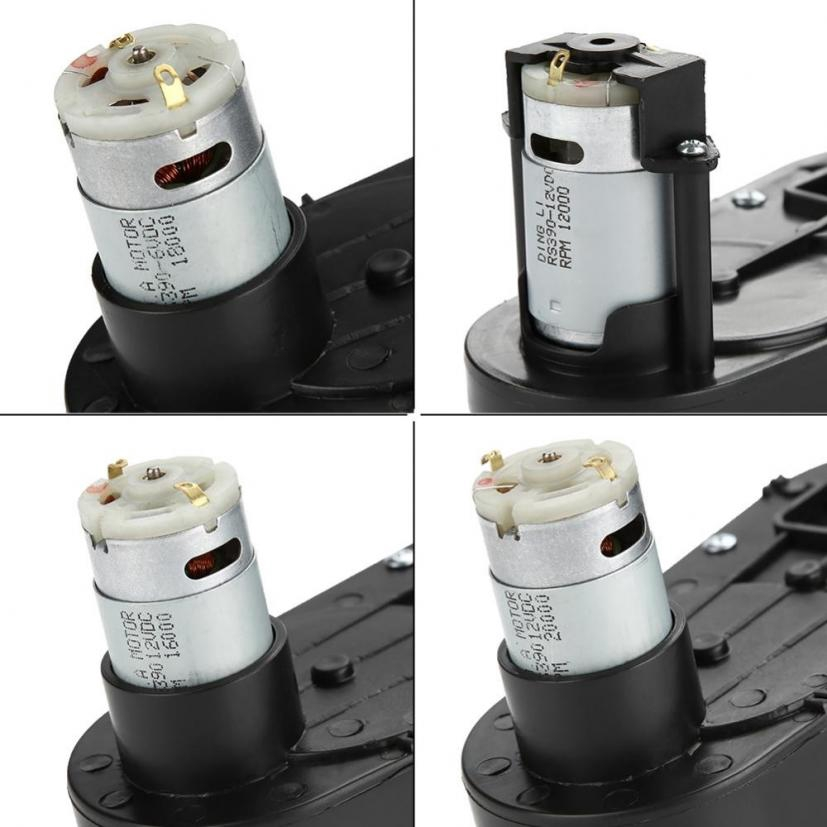 RS390 Electric Motor Gearbox 6V//12V 12000-20000RPM for Kids Car Toy Low Noise