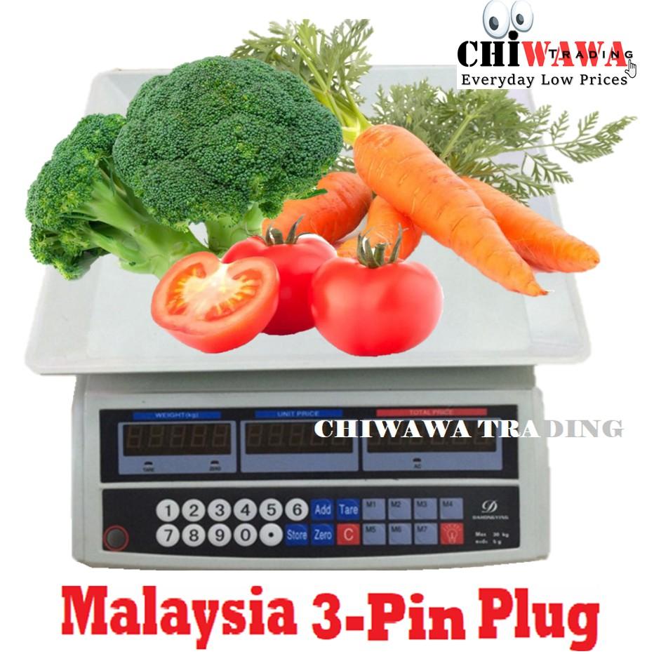 Timbang Penimbang Dacing Kuih Miuh Easyparcel Kitchen Digital Alat Model Gantung Weighing Scale 5kg Shopee Malaysia