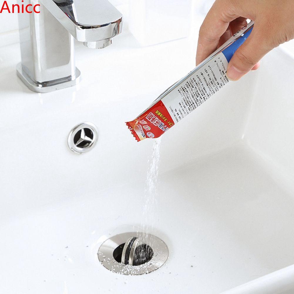 Suction Plunger Brush Drain Snake 3pc Drain Pipe Sink Unblocking Tool Set