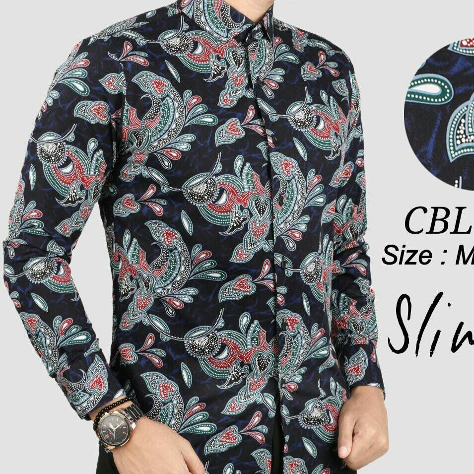 Batik Slimfit Shopee Malaysia Celana Pendek Motif Tartan Blx510