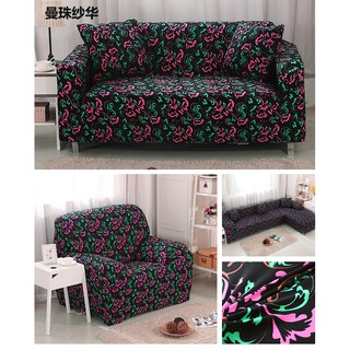 Amazing Universal Black Stretch L Shape Couch Sofa Covers 1 2 3 4 Seat Gmtry Best Dining Table And Chair Ideas Images Gmtryco