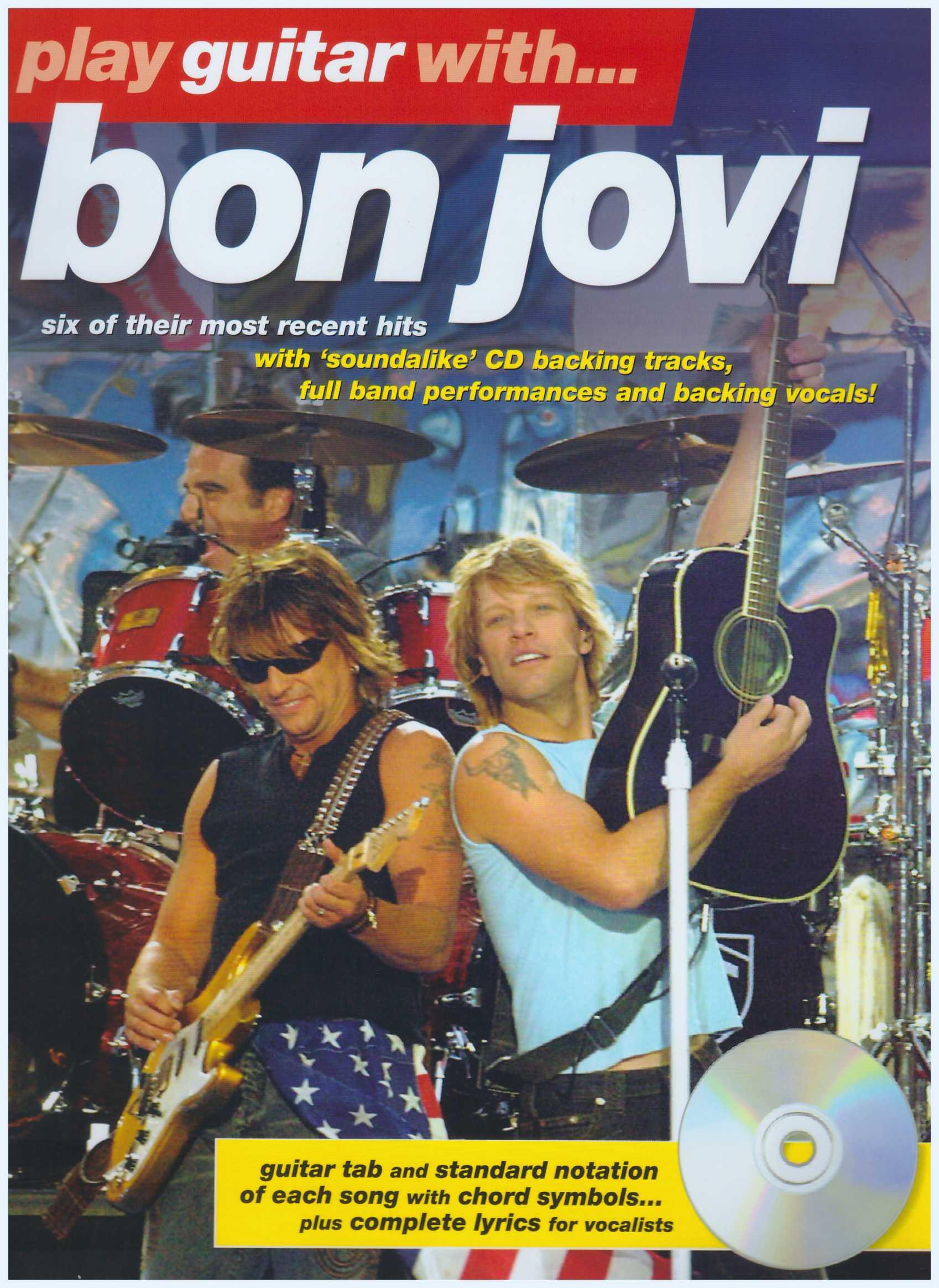 Play Guitar With... Bon Jovi / Vocal Book / Guitar Book / Gitar Book / Tab Book / Guitar Tab Book