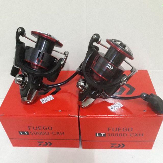 2500D-XH 3000-CXH 2500-XH 3000-C 2500D Daiwa carbontex drag FUEGO LT 2500