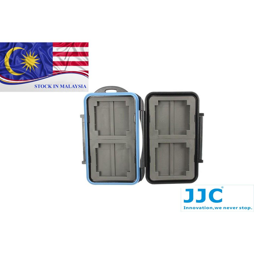 JJC MC1 Anti-shock Waterproof Memory Card Case Holder Hard Storage (Ready Stock In Malaysia)