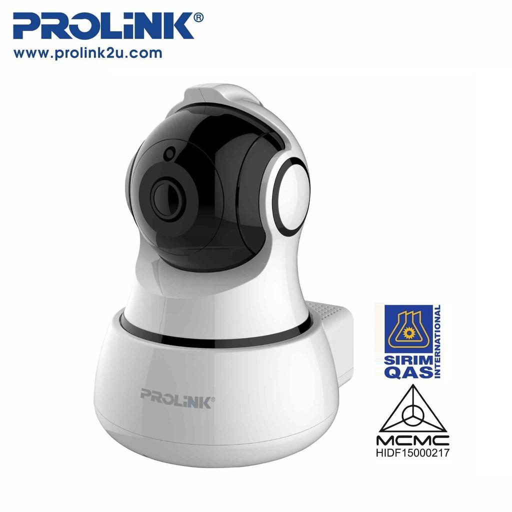 PROLiNK 1080p Full HD Wi-Fi Pan/Tilt IP Camera CCTV Ceiling/Wall Mount  PIC3001WP