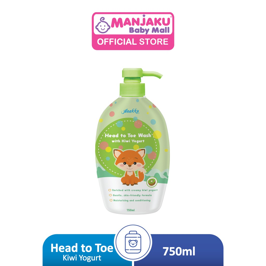 Anakku Head To Toe (750ml) - Kiwi/Strawberry Yogurt