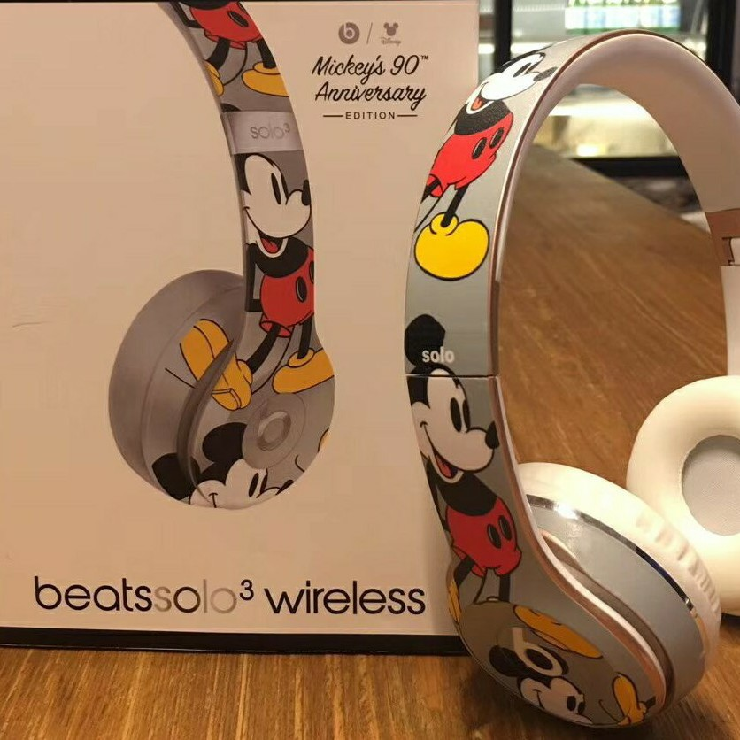 Mickey S 90th Anniversary Edition Beats Studio 3 Wireless In Ear Headphones Shopee Malaysia