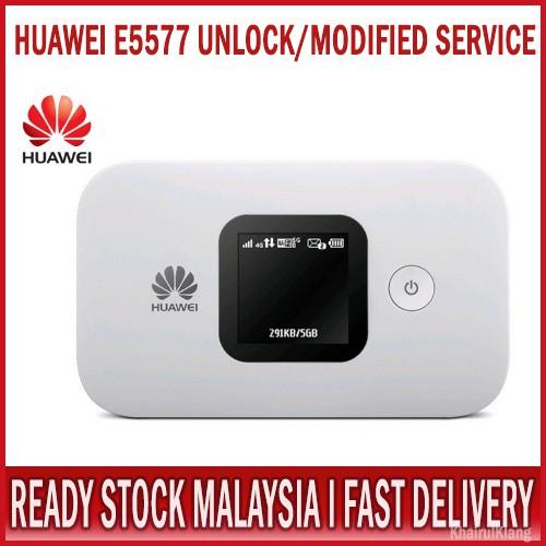 UNLOCK MOD FIX SERVICE HUAWEI E5577 4G LTE WIFI ROUTER