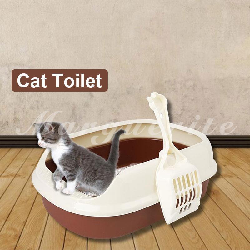 MAR Cat Litter Shovel Litter Box Cat Litter Box Pet Supplies Lightweight