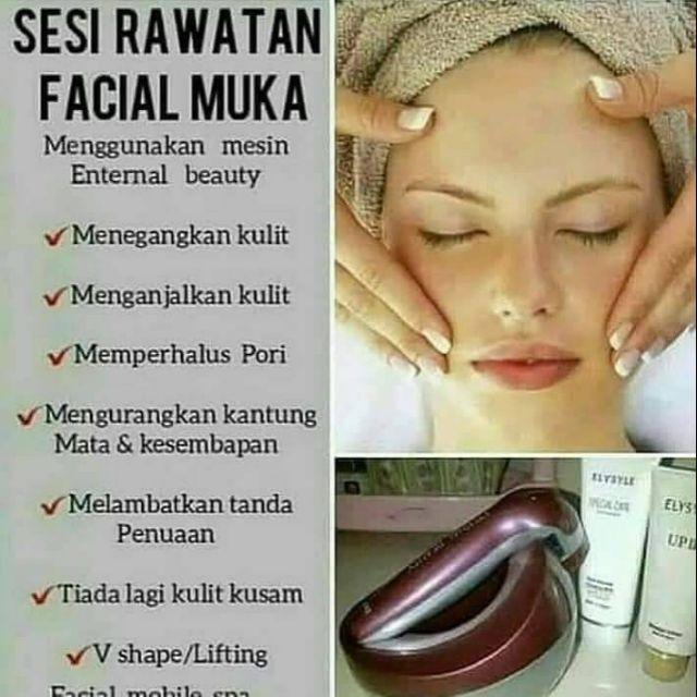Home Facial Spa by Aisy Beauty   Home Mobile Facial   Produk Elken   V Shape   Facial Lifting   Facial Treatment