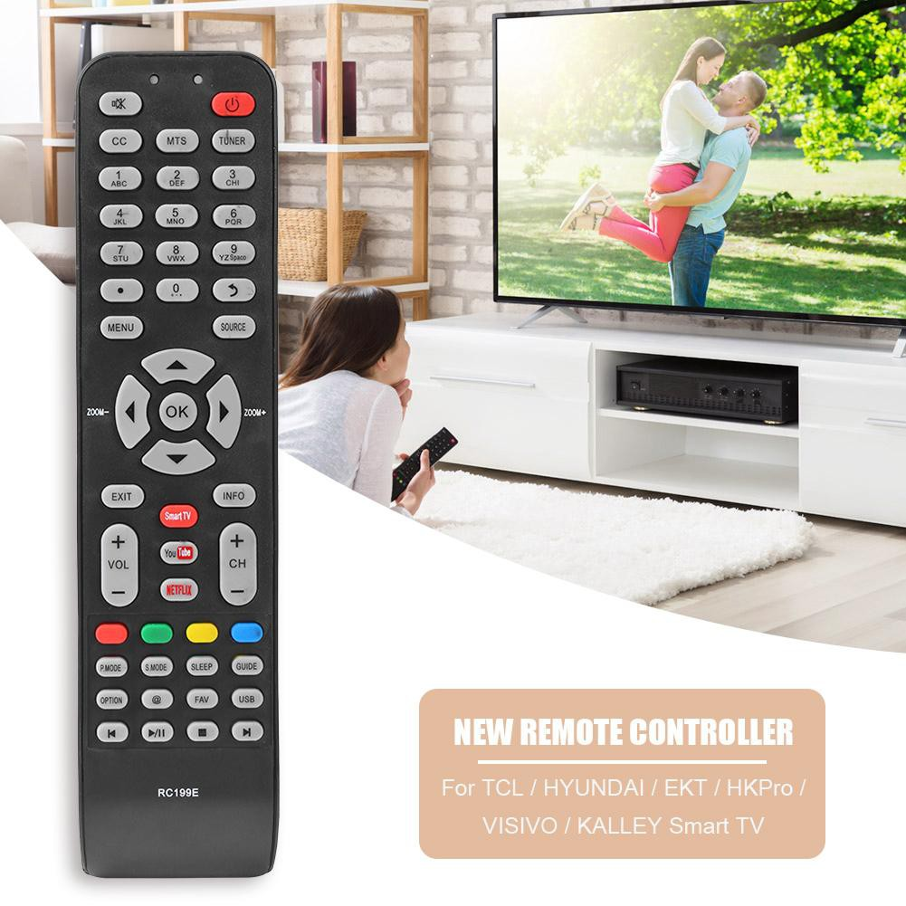 Smart TV Remote Control 06-519W49-C005X for TCL/Hyundai/EKT/HKPro/VISIVO