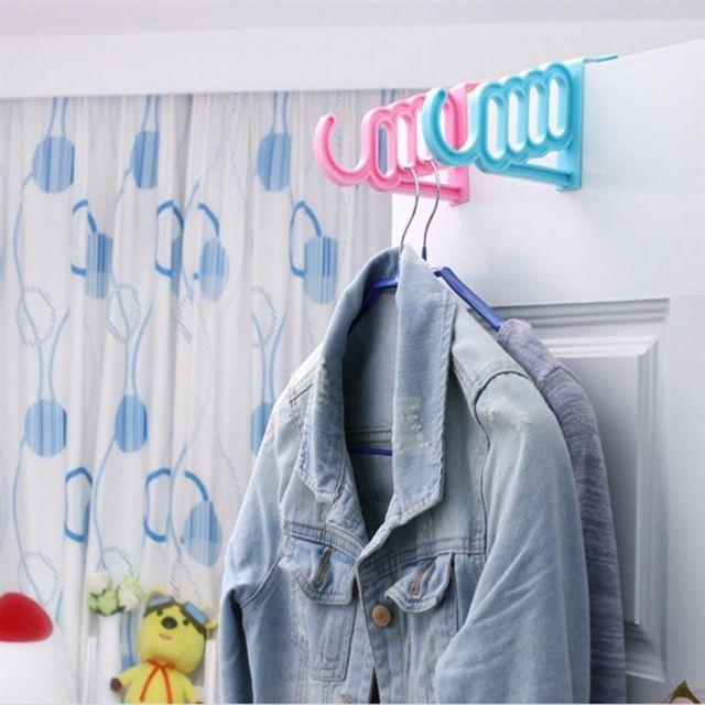 Over The Door Garment Hanger Hook Multifunctional Wall Hanging Hook Door Back Coat Key Towel Bag Hooks