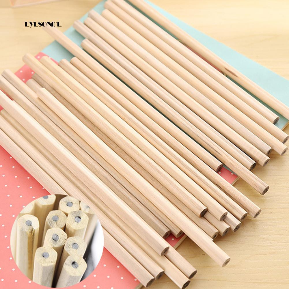 EYe❀10Pcs Wood HB Pencils for Drawing School Learning Stationary Office Supplies