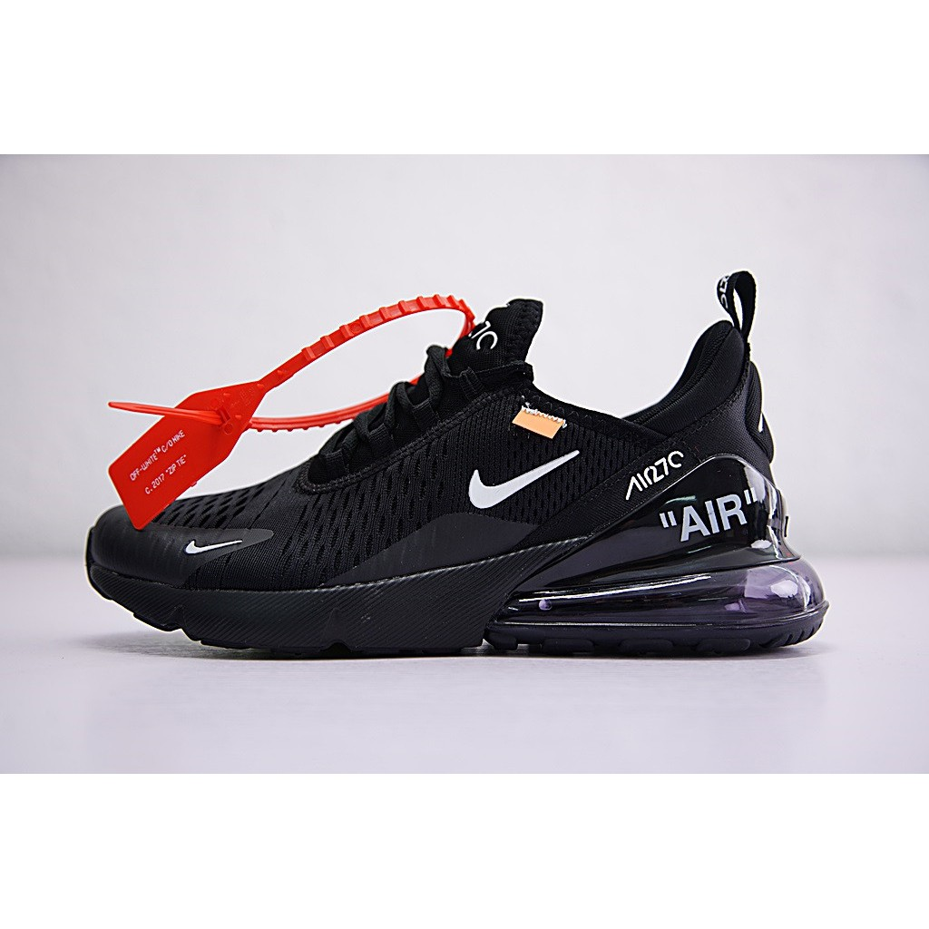 Off white x Nike Air Max 270 Shoes Men Airmax 27c Running Shoes Women  Sneakers