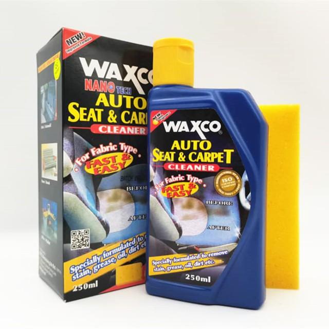 WAXCO AUTO SEAT & CARPET CLEANER 250ML