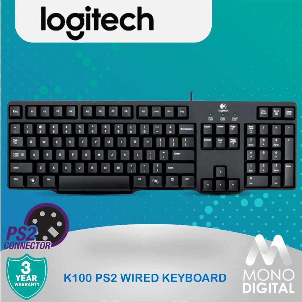 Logitech Classic PC Keyboard K100 - PS/2 (920-002145)