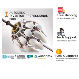 Autodesk Inventor Pro 2019/2020 (x64) | Student Version (3 years) | Software