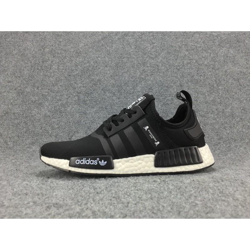 adidas NMD RNR PK N M D runner sneakers black size: US8(26cm) (Adidas)